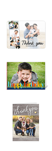 Greeting cards personalized photo cards stationery shutterfly sign in to see your photos on these products m4hsunfo